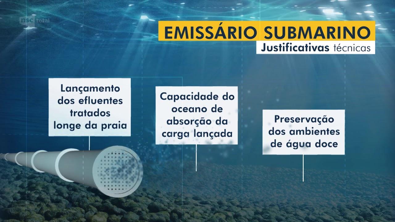 Emissários submarinos: justificativas técnicas