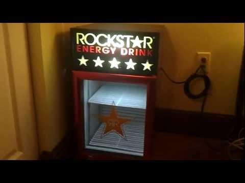 ROCKSTAR Energy Drink Mini Fridge