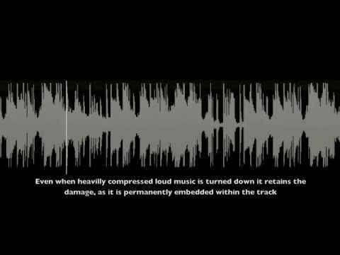 'The Loudness War' Dynamics of music