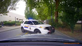 2018-Aug-3 Fender Bender: Shaughnessy St @ Lions Way, Port Coquitlam, BC, Canada