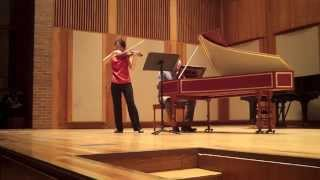 Yi-Li Chang, MM '15 performs Telemann: Violin Sonata in D major