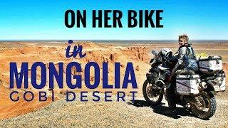 Gobi Desert. On Her Bike Around the World. Episode 3