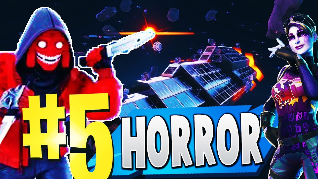 Top 5 Best Horror Creative Maps In Fortnite Fortnite Horror Map Codes Scary Youtube