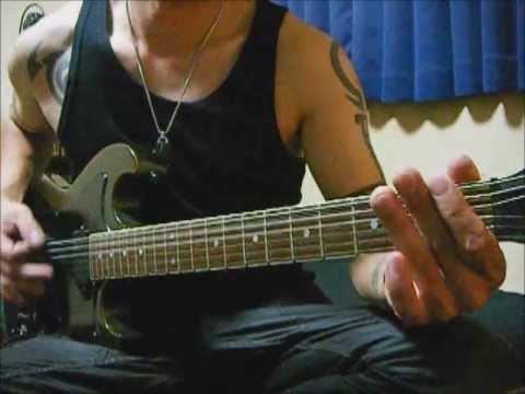【弾いてみた】Hatebreed / Tear It Down【Guitar Cover】