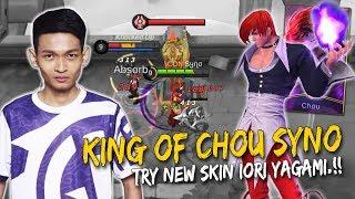 King Of Chou Syno Try New Skin Chou Iori Yagami.!! Mobile Legens: Malaysia
