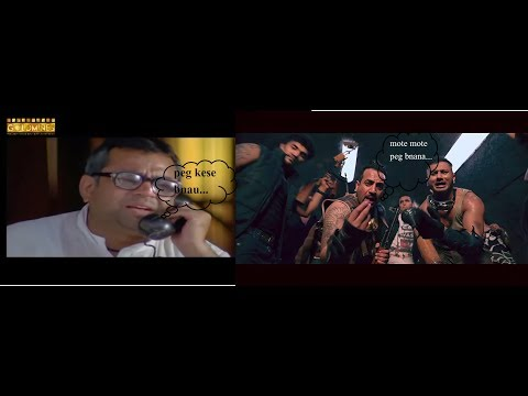 Babu Rao calling Honey singh for party || Party getting hot