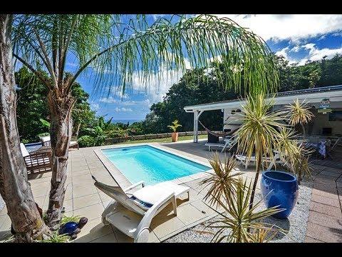 Bleu nature location maison tartane martinique piscine locations vue turquoise