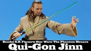 S.H. Figuarts Qui Gon Jinn Star Wars The Phantom Menace Bandai