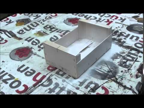 Copie de diy fabriquer des tageres avec des cagettes youtube - Fabriquer des etageres ...