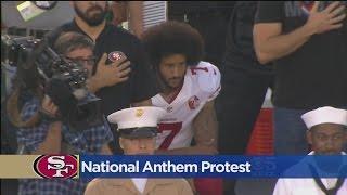 Sacramento Fans React To San Francisco 49ers QB Colin Kaepernick Kneeling