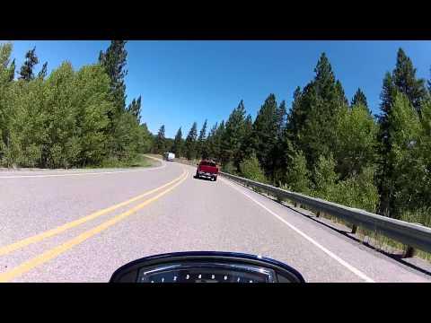 Fast Ride on Lucky 7 Hwy. on Suzuki M109R