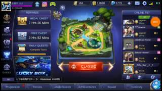 Epic skin of Akai (opening) Lucky box mobile legends