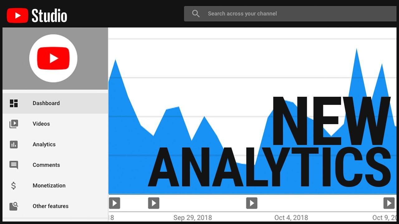 Analytics in the NEW YouTube Studio