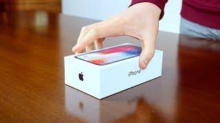 iPhone X Unboxing - ITA