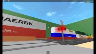ROBLOX Railfanning Episode 5- Level Crossing Mania!