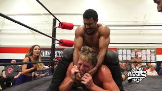 """Jack Swagger w/ Catalina vs. AR Fox - Limitless Wrestling """"Question The Answers"""""""