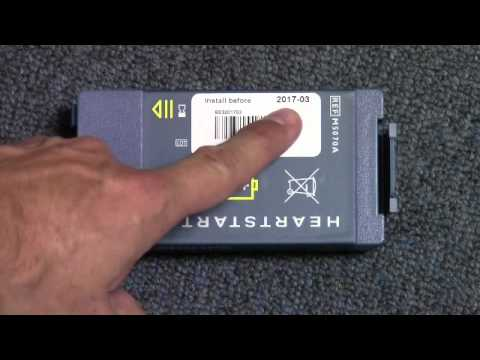 How to Replace Philips FRx AED Pads and Battery wmv