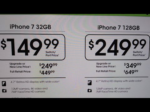 CRICKET WIRELESS iPhone 7 & 7 plus $149-$249 LEAKED DEALS DEC 17TH