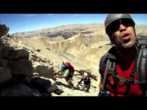 Mt. Whitney SUMMIT via Mountaineers Route (August 2013)