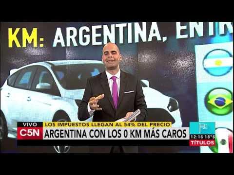 C5N - Economia: Argentina, el lugar más caro para comprar 0 km