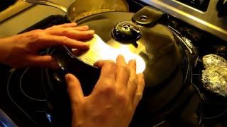 Pressure Cooker Chicken In Red Wine Sauce