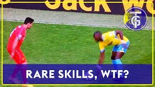 30 rare skills in FOOTBALL HISTORY I HOW CAN THEY DO IT