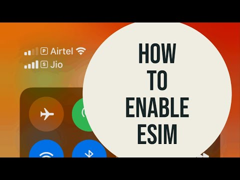 IPhone 11 Dual Sim -How To Enable ESIM On IPhone 11 Pro, IPhone XR, IPhone X, IPhone XS(Airtel/Jio)