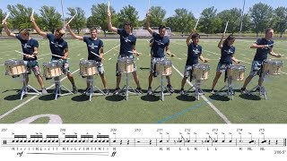 """2019 Blue Stars Snares - LEARN THE MUSIC to """"Call of the Wild"""""""
