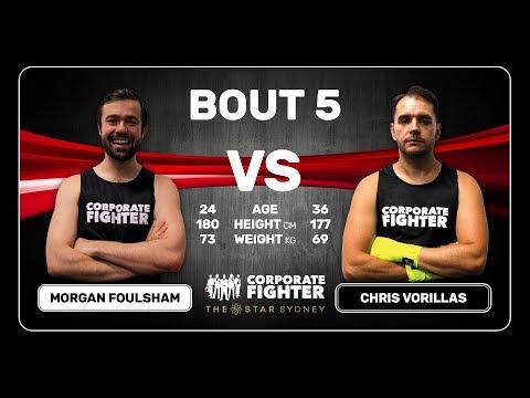 Corporate Fighter 33 - Morgan Foulsham vs Chris Vorillas