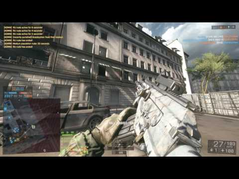 Battlefield 4 - 125-12 Metro (First game on my new 144 hz monitor)