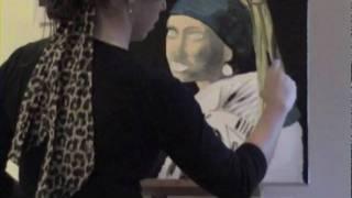 Amanda Baker Acrylic Painting