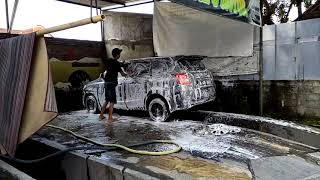 Cuci mobil salju dari Susilo Carwash Yogyakarta