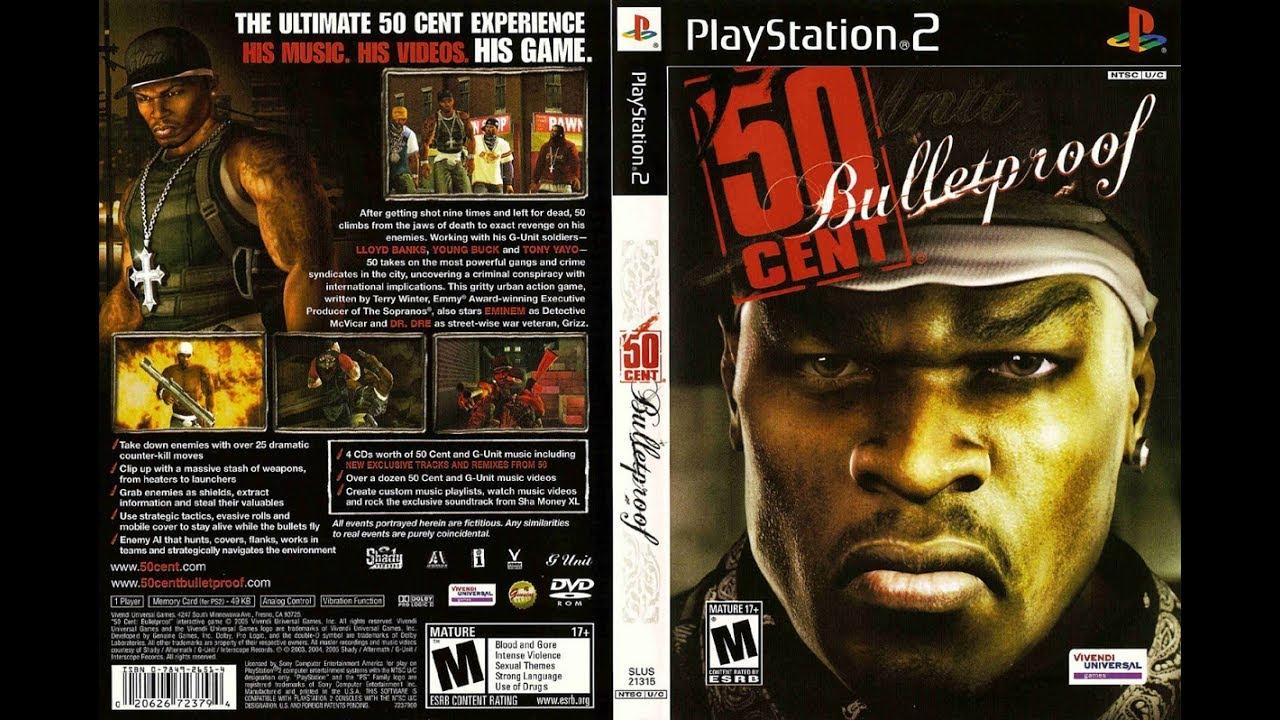 o jogo 50 cent bulletproof para ps2
