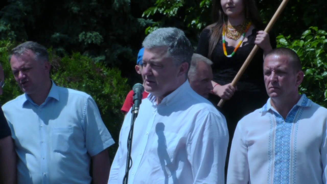 П'ятий Президент України у Бродах!