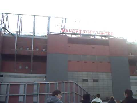 Turistas en Old Trafford
