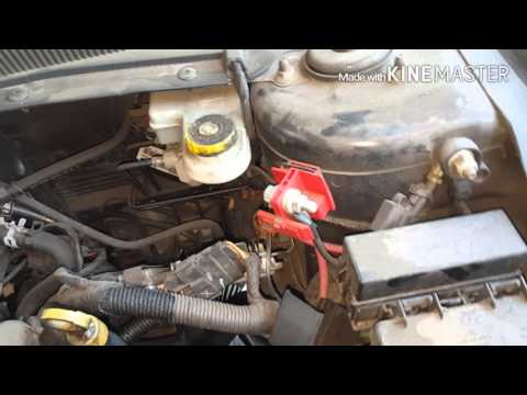 How to replace a battery on a Dodge avenger