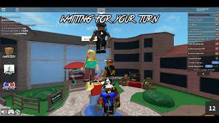 Playing MM2 IN Roblox With Fumbi And Justin