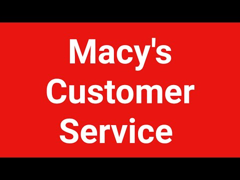 Macy's Customer Service Number  | Macy's Customer Service Chat