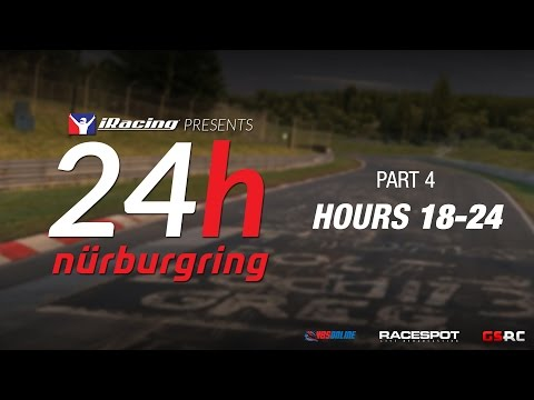 iRacing 24 Hours Nürburgring // Hours 18-24