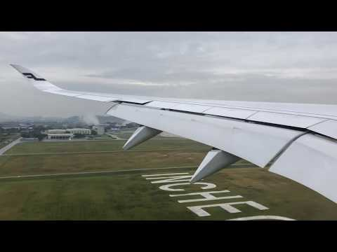 Finnair Airbus A350   Helsinki To Seoul Incheon *Full Flight With Sunset Takeoff*