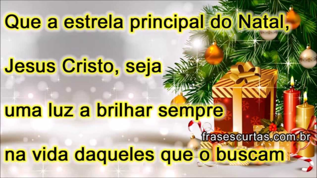 Mensagem De Natal Reflexão: Mensagem Especial De Natal