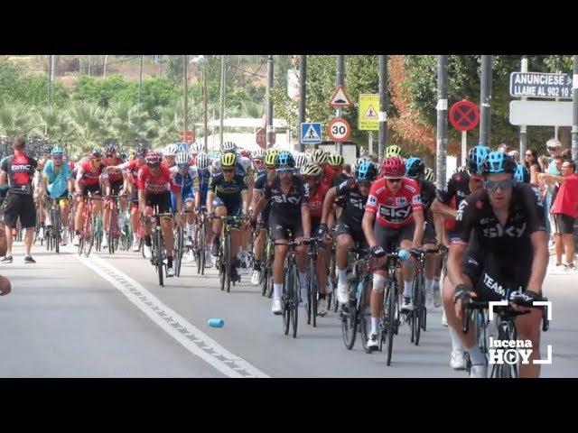 VÍDEO: La Vuelta Ciclista a España volvió a pasar por Lucena