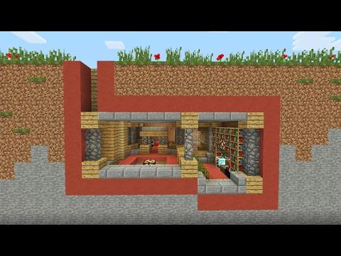 Minecraft Tutorial How To Make An Underground Bunker YouTube