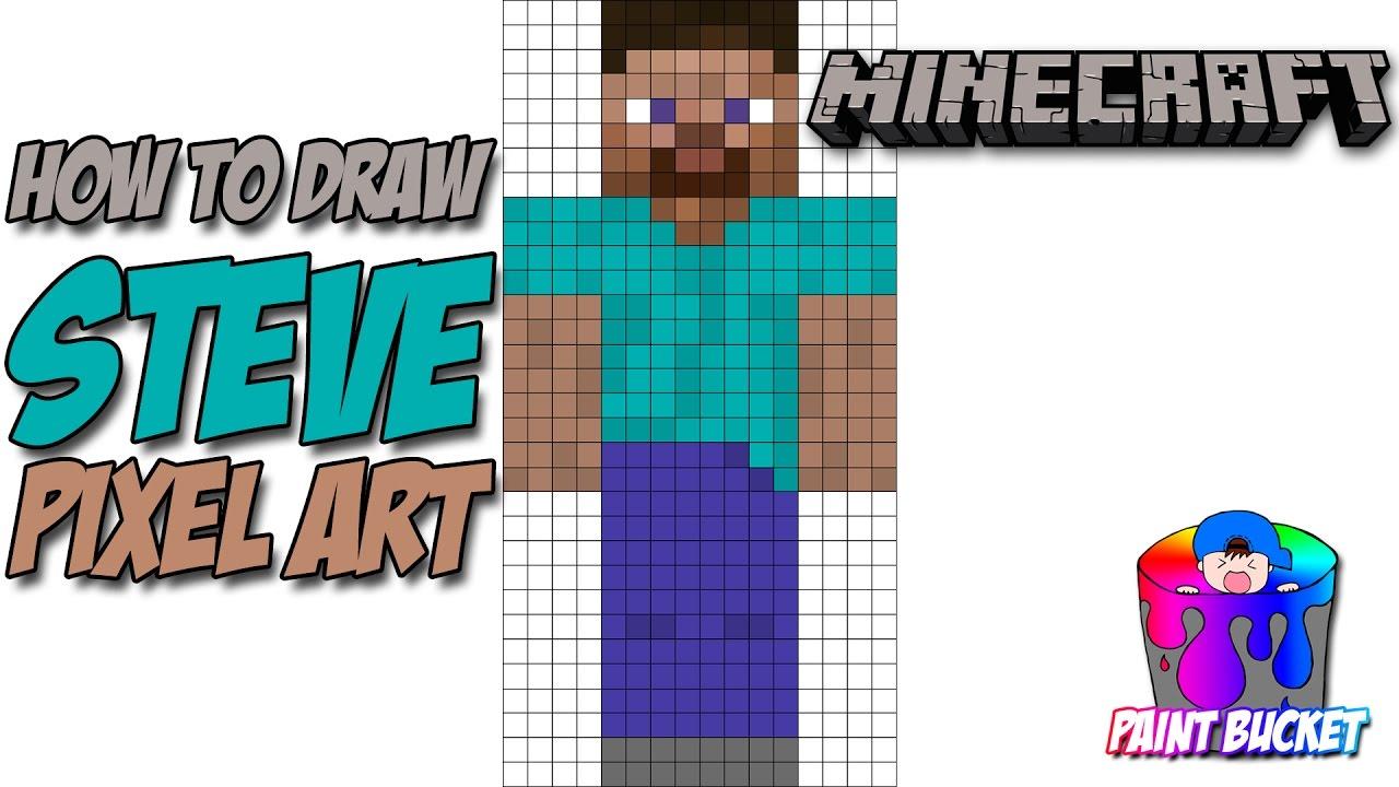 Pixel Art Minecraft Steve