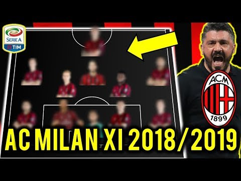 AC Milan Possible Line Up XI 2018/2019 Ft Depay, Falcao, Belotti