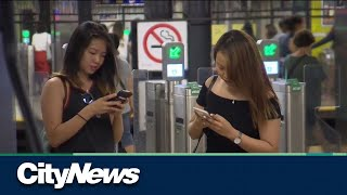 What happened to cell service in the subway?