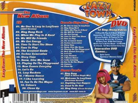 CD LazyTown The New Album