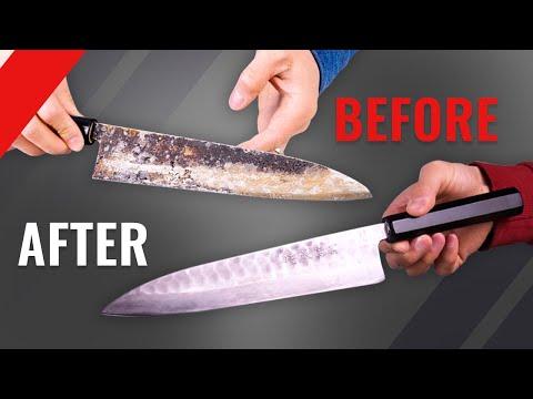 Complete Restoration of Broken & Rusty Knife