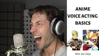 Anime Voice Acting Basics - How To Be A Voice Actor