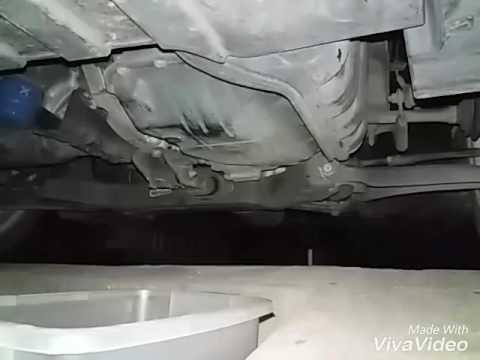 Kia Picanto automatic transmission oil drain - YouTube